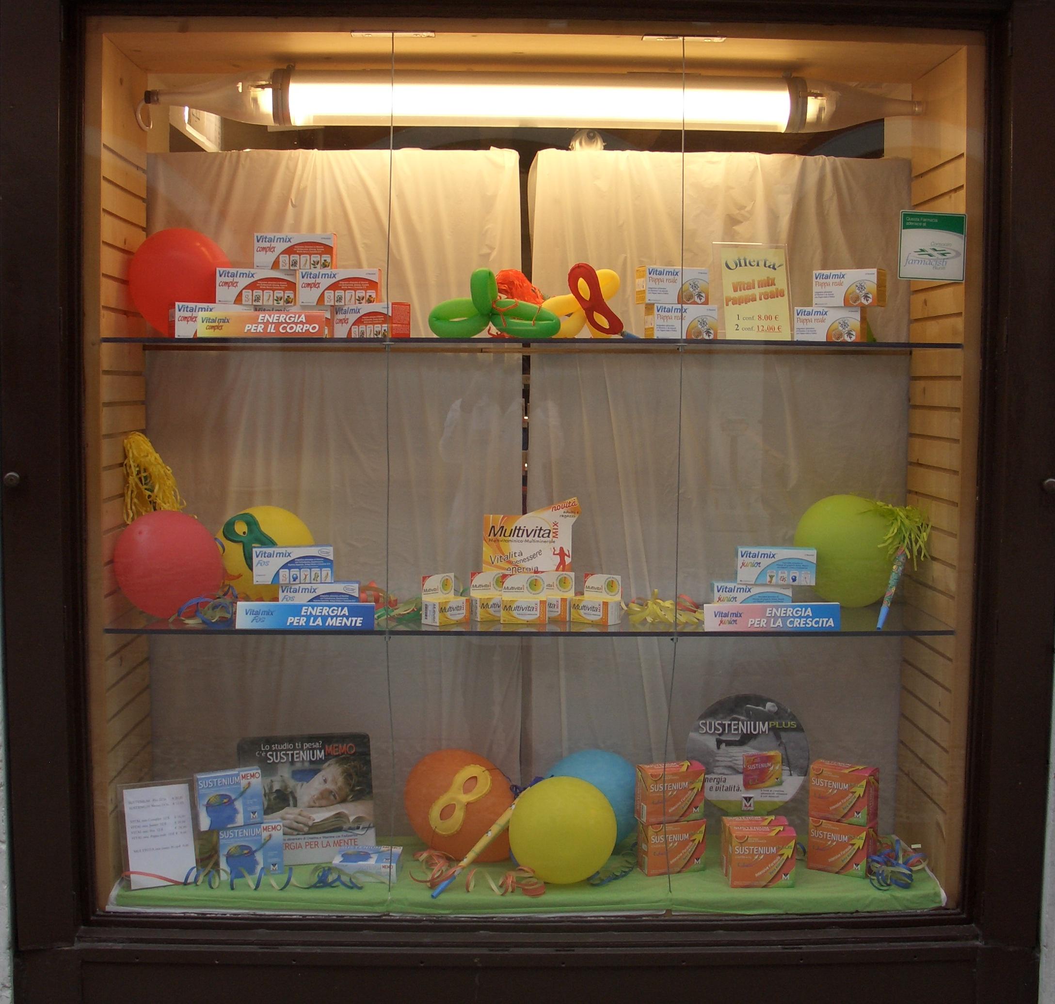 Favoloso Le vetrine   Farmacia Santorini YU46