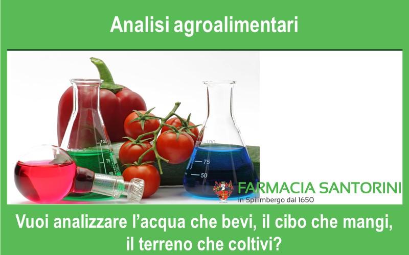 Analisi Agroalimentari e dell'ambiente