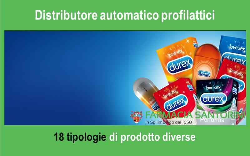 Distributore automatico di profilattici