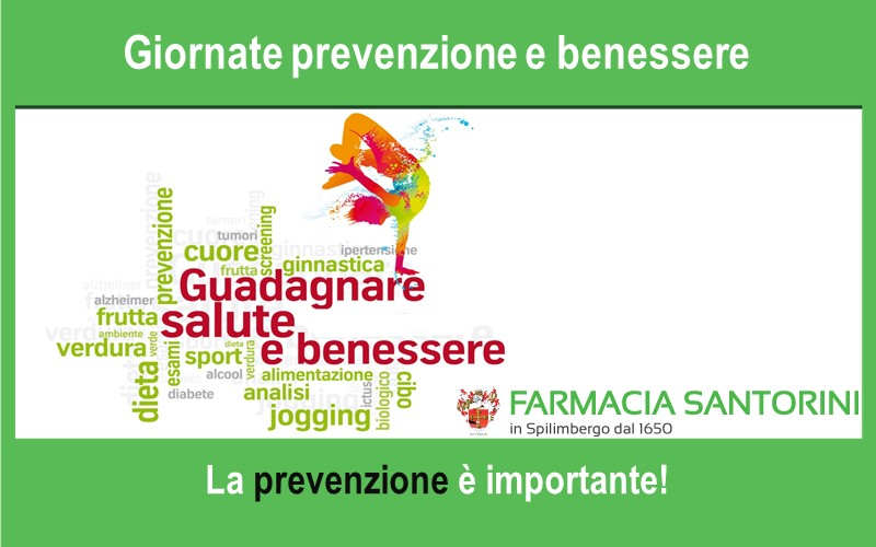 Giornate dedicate alla Prevenzione ed al Benessere