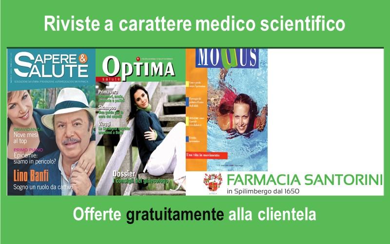 Riviste specializzate a carattere medico scientifico