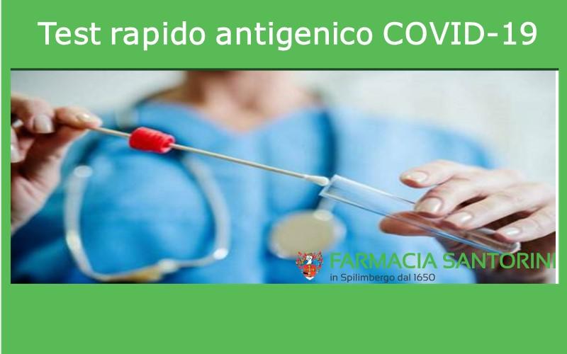 Test antigenico rapido COVID19