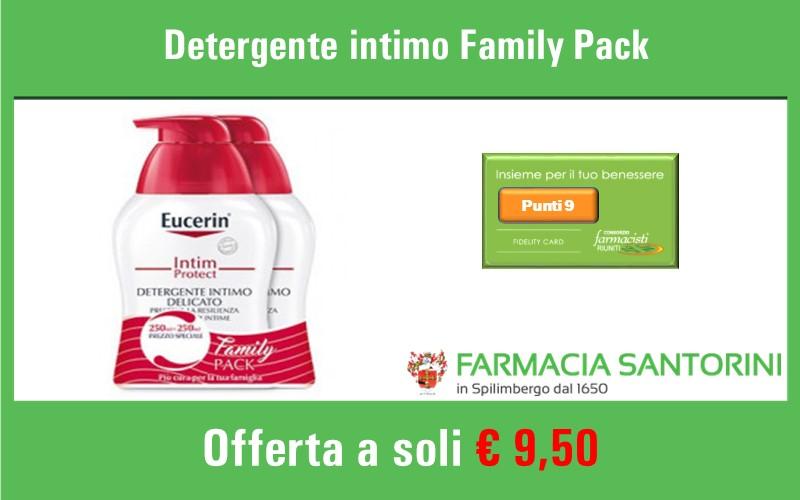 Detergente intimo Eucerin