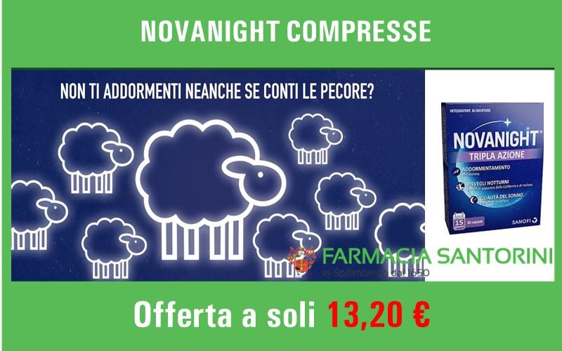 Novanight compresse