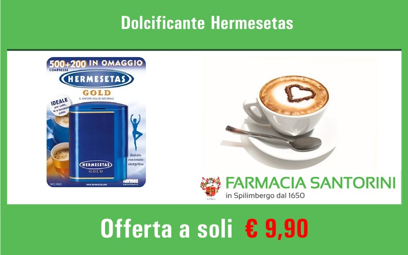 Dolcificante in compresse